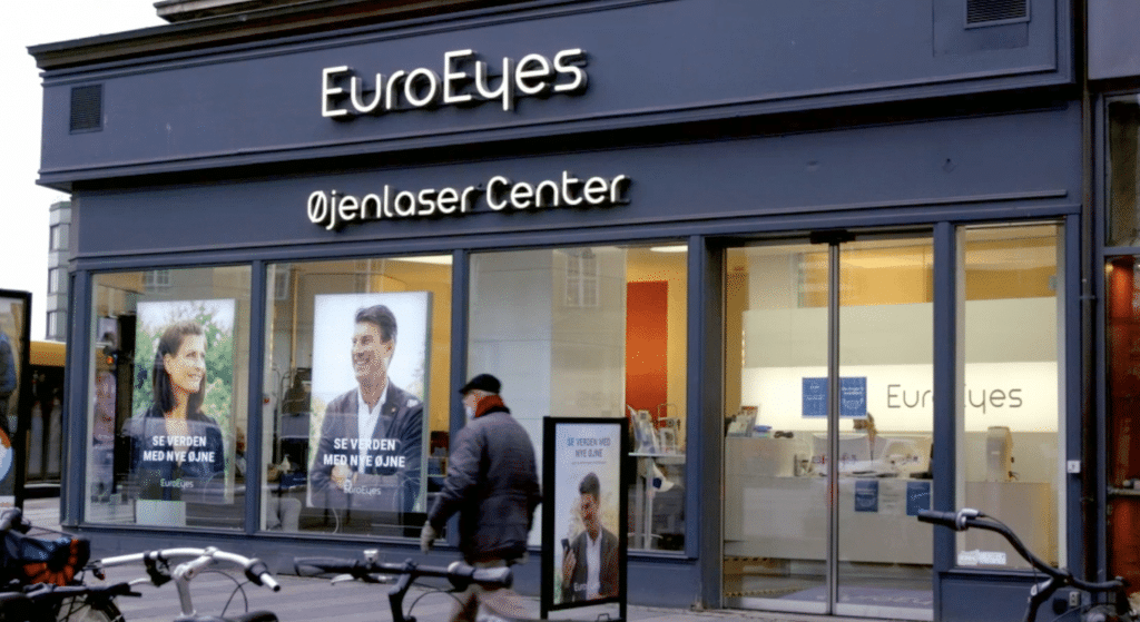 EuroEyes øjenklinik i Aarhus